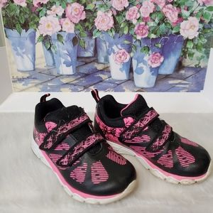 Pink and Black Active Sneakers